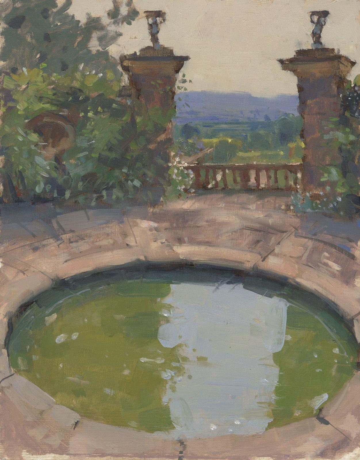 The Lutyens Rotunda at Hestercombe by Maria Rose